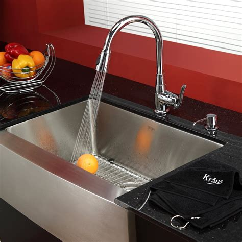 kitchen sink and faucet combo sets modern sinks the