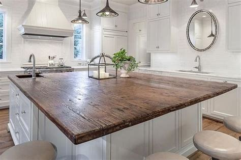 amazing wood kitchen countertop ideas adding exotic