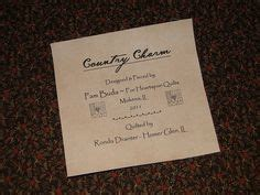 Quilt Labels On Computer by 1000 Images About Quilt Labels Printable On