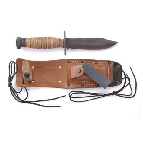 ontario pilot knife ontario knife 174 499 air 5 quot survival knife with
