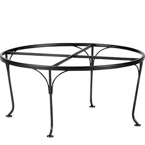 Wrought Iron Coffee Table Bases Woodard 190206 Dining Tables And Bases Dining Tables And Bases Dining Tables And Bases Wrought