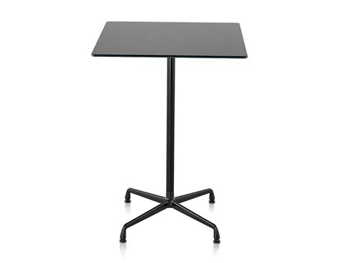 table standing eames 174 standing height square table hivemodern