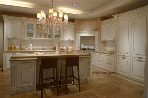pictures of cream colored kitchen cabinets cream colored cherry kitchen cabinet lh sw068 in kitchen
