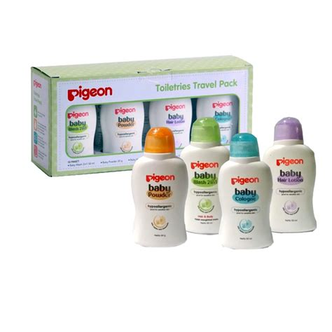 pigeon paket toiletries mini pack paket hemat toiletries pigeon pigeon toiletries trial