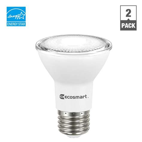 par 20 light euri lighting 50w equivalent warm white 2700 mr16