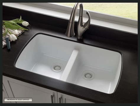 Solid Surface Undermount Sinks by How To Choose A Sink For Solid Surface Countertops