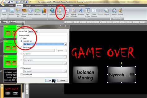 cara membuat film pendek dari power point cara membuat game dari power point rizkiiagain