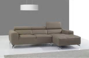 Sectionals Sofas Beige Italian Leather Upholstered Contemporary Sectional