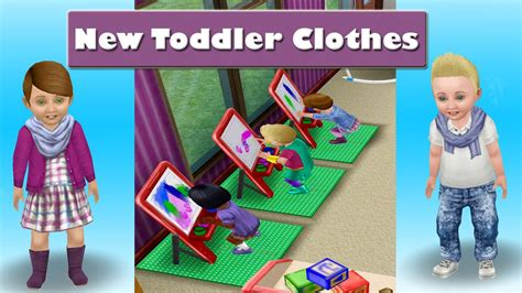 design clothes the sims freeplay sims freeplay new toddler clothes youtube