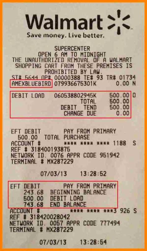 walmart receipt template walmart receipt codes lovely 7 walmart t receipt