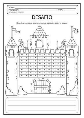 CLIQUE AQUI PARA BAIXAR EM PDF | Atividades pedagogicas