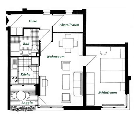 Wohnung 60 Qm by Ausstattungen Der Wohnungen In Der Seniorenwohnanlage