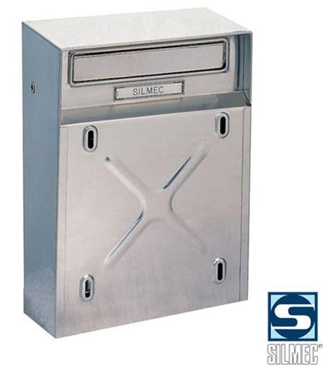 cassette postali esterne cassetta postale posta buca lettere silmec mod 10009 inox