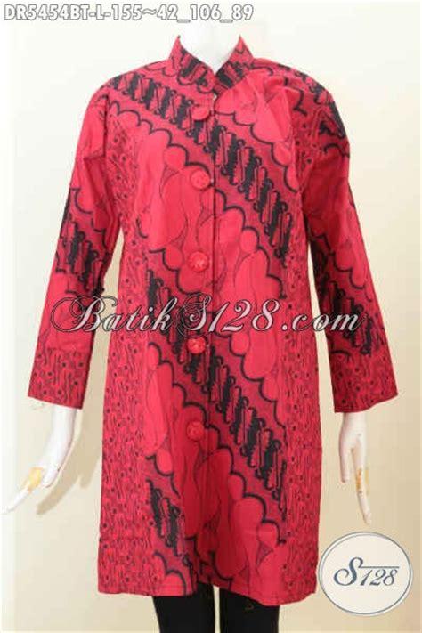 Dress Charlote Hitam Bahan Twistcone Kombi Katun Batik Asli Sleti jual harga grosir dress bati monokrom elegan warna merah hitam motif bagus proses