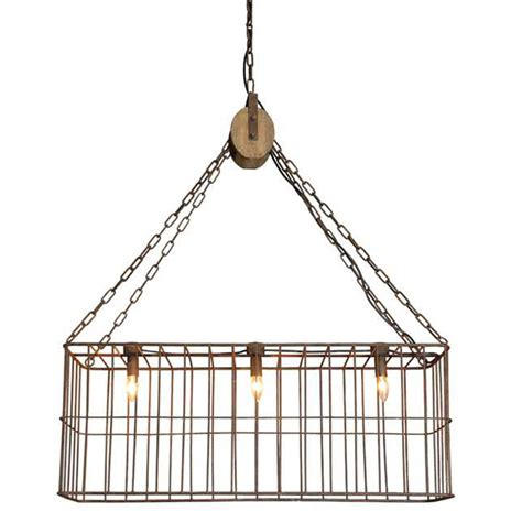 Basket Pendant Light Metal Basket Pendant L