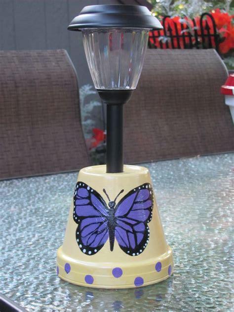 solar light crafts ideas 190 best images about clay pots on pinterest bird baths