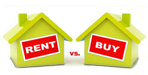 buy vs rent house live in own house via home loan or live in a rented house what should one