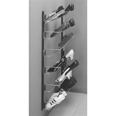 Shoe Rack Attached To Wall by Hafele Wall Mounted Shoe Rack Kitchensource