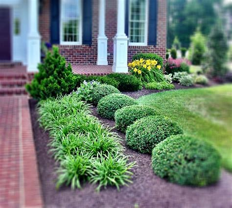 Square To Yards Of Gravel Mulch Ideas Use Of Symmetrical Planting With Gorgeous