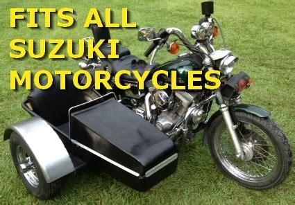 Sidecar Suzuki Motorcycle Suzuki Side Car Motorcycle Sidecar Kit