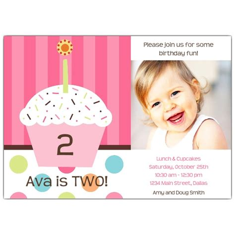 Baby Shower Funny Gifts - bliss any age pink kids birthday invitations paperstyle