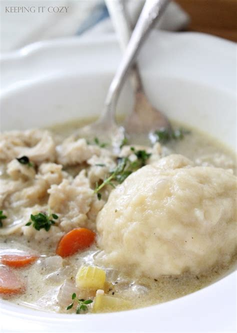 Reader Recipe Chicken And Buttermilk Dumplins by Keeping It Cozy Reader Recipe Feature Chicken And Dumplings