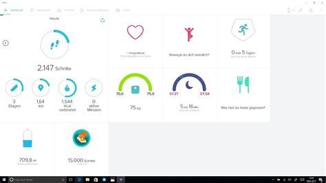 design app windows fitbit app f 252 r windows 10 erh 228 lt verbessertes design gps