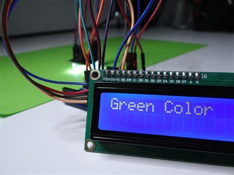arduino color sensor arduino projects color sensor tutorial45