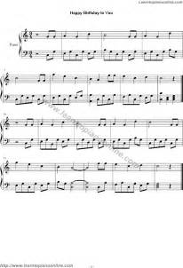 Happy birthday to you free piano sheet music learn how to play piano