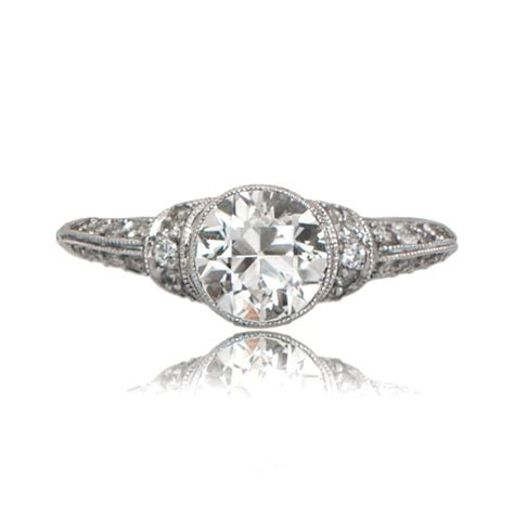 deco style engagement ring deco style engagement ring estate jewelry