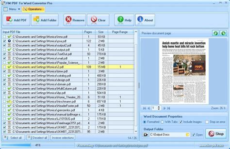 convert pdf to word microsoft office screenshot review downloads of shareware pdf to word