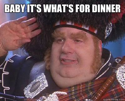 Fat Bastard Meme - baby it s what s for dinner fat bastard quickmeme