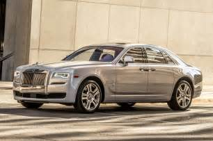 Rolls Royce Ghost Ii 2015 Rolls Royce Ghost Series Ii Front Three Quarter 04