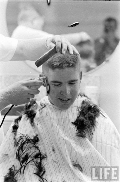 navy rtc boot c haircut men life magazine marines boot c and barber shop on pinterest