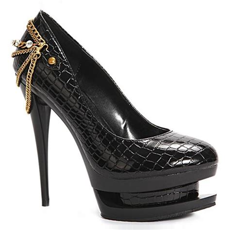 s chains fancy platform stiletto high heel shoes ebay
