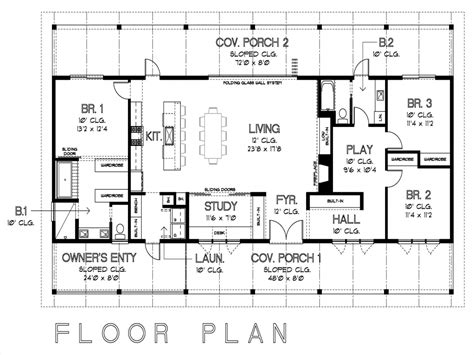 House Floor Plan With Measurements | simple floor plans with measurements on floor with house