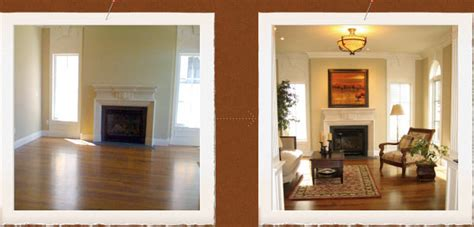 Staging A Living Room Before And After Home Staging Services Pc Designs Denver Colorado