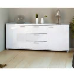 modern high gloss buffet white dresser sideboard display cabinet kitchen lounge ebay