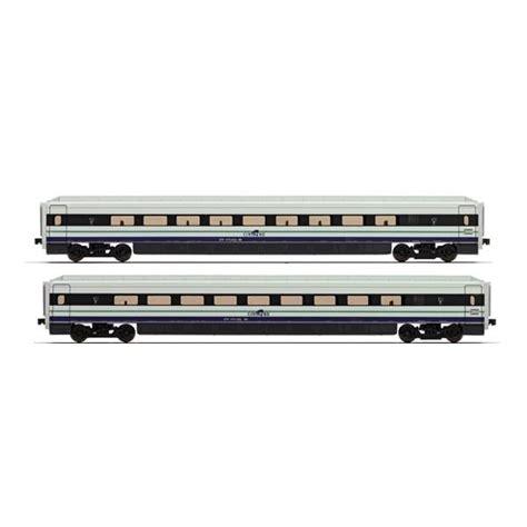 carrozze lima lima hl4021 set 2 carrozze intermedie per cisalpino 470 fs