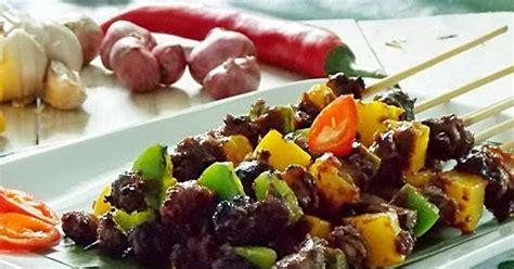 Kerang Macan cooking with sate keong macan pedas