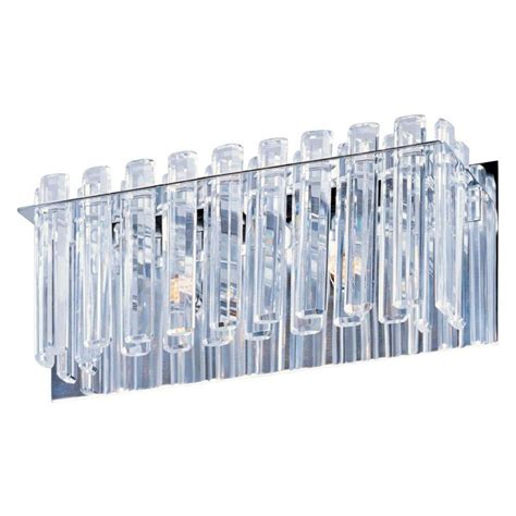 bathroom facets maxim lighting facets bath vanity 39912bcpc the home depot