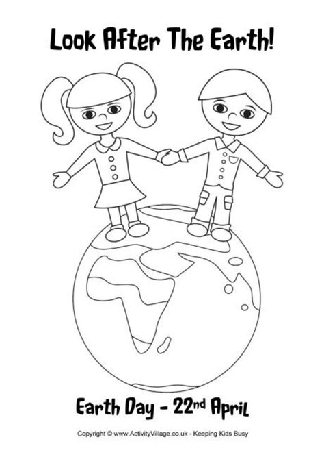 coloring pages for children s day get this free earth day coloring pages for kids 66476