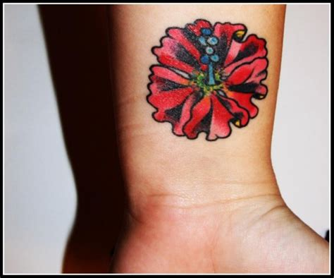 hawaiian flower tattoos on wrist 32 fantastic flowers tattoos on wrists