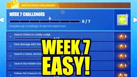 fortnite week 7 challenges fortnite week 7 challenges easy guide leaked week 7