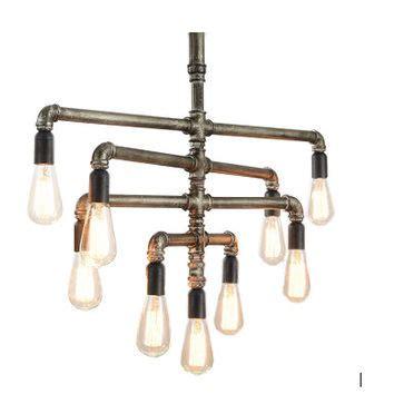 edison chandelier best edison bulb chandelier products on wanelo