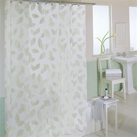 fabric for bathroom curtains bathroom white fabric shower curtains with leaves pattern