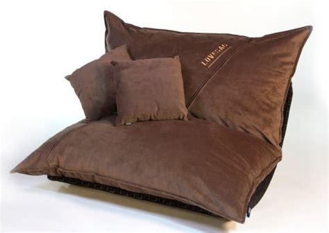 lovesac pillowsac coffee velvish pillowsac package original oversized sac