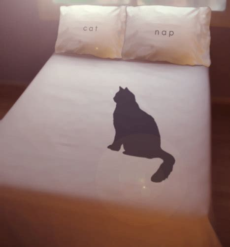 cat bed sheets black cat nap duvet cover sheet set bedding queen king twin