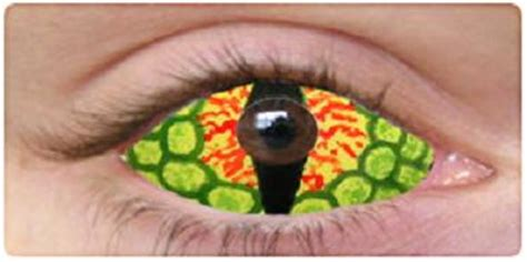 10 most scary contact lenses