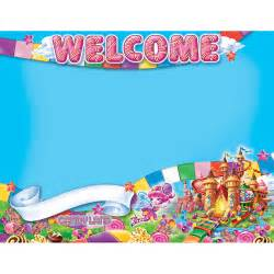 candy land welcome posters eureka